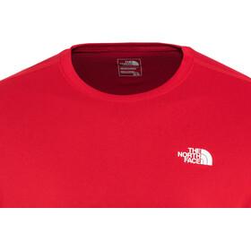The North Face Flex II Camisa Manga Corta Hombre, tnf red